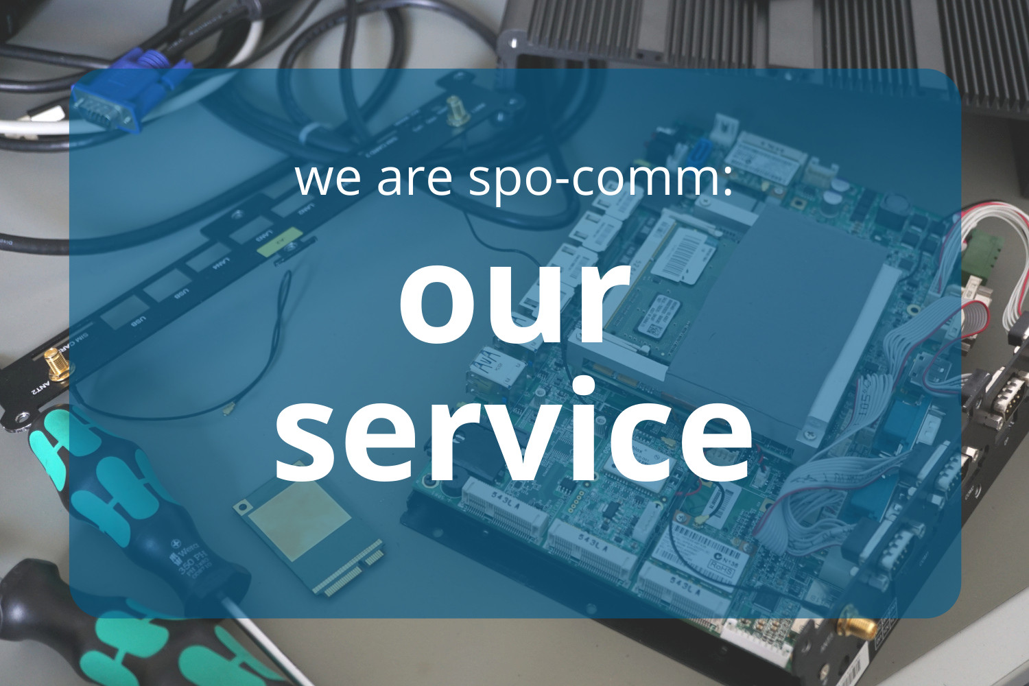 More than just support: Our service department