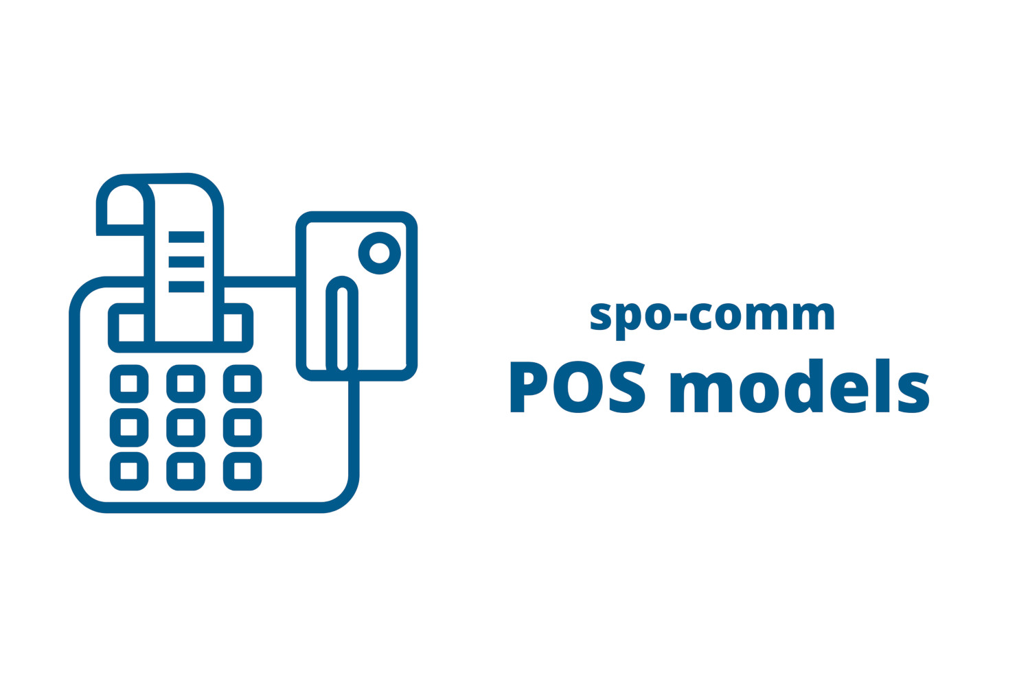 Something to earn: The new POS systems from spo-comm