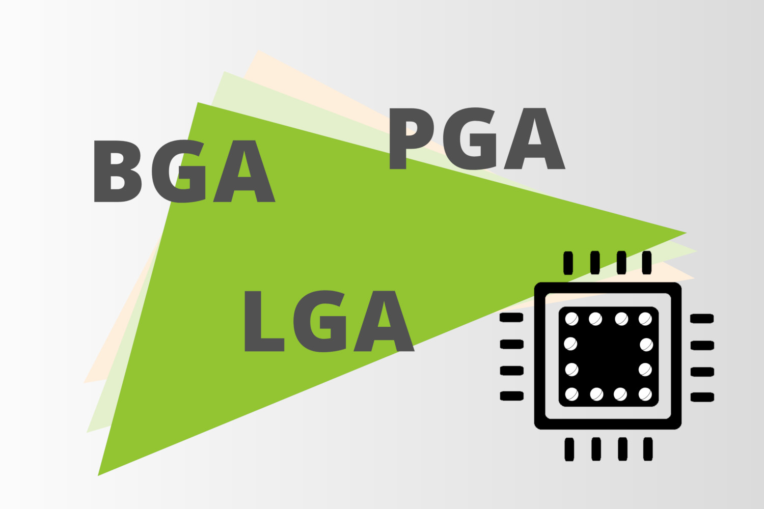 BGA, PGA and LGA – What is behind the different grid arrays?