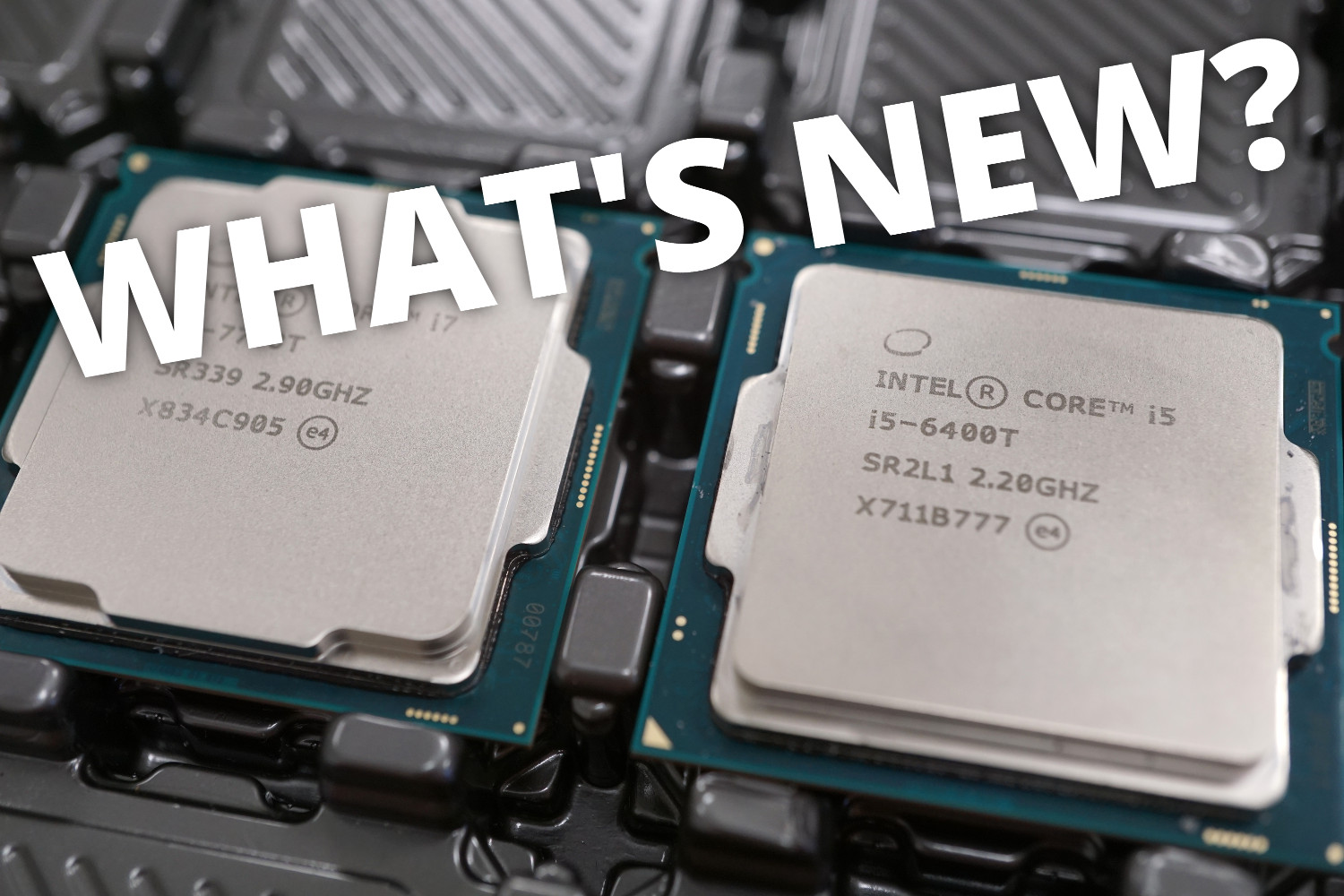 What's New? Remaining issue with Intel CPUs, AMD's rising market share and eMMC in the IPC-field