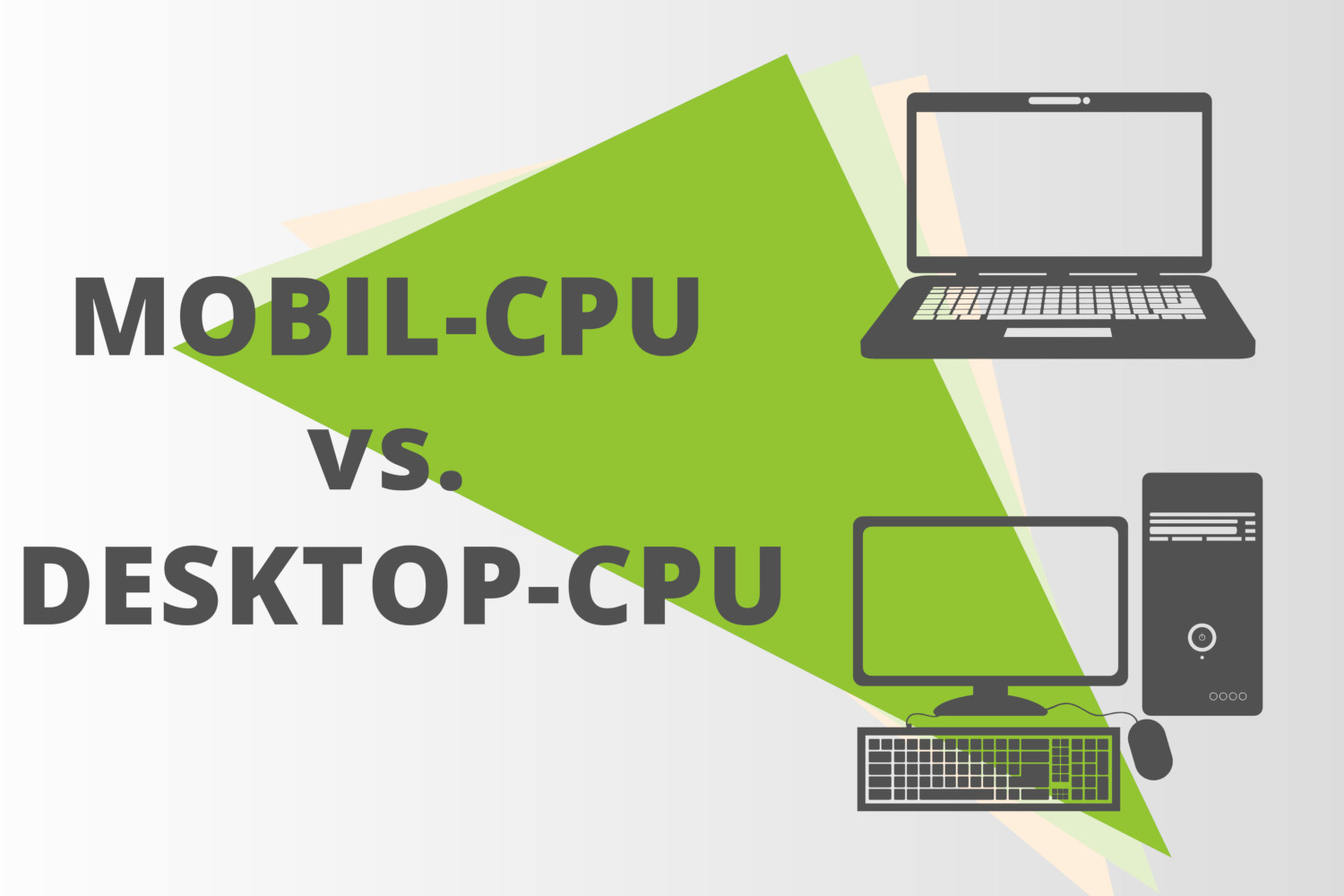 What is the difference between mobile and desktop CPUs?
