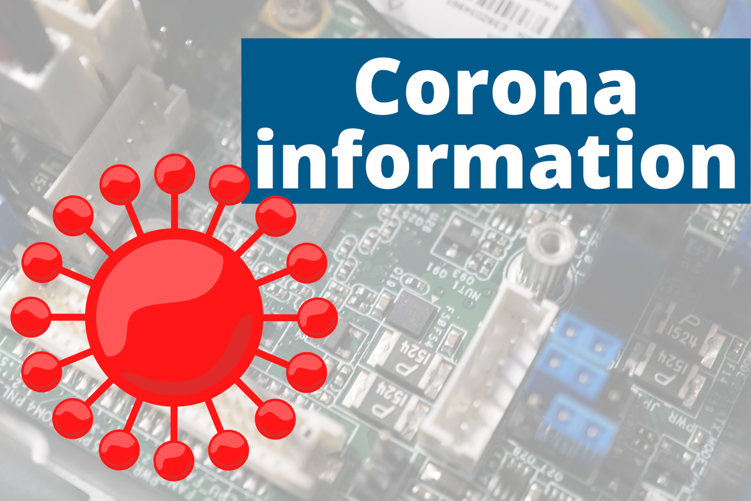 Corona virus: delivery is still possible