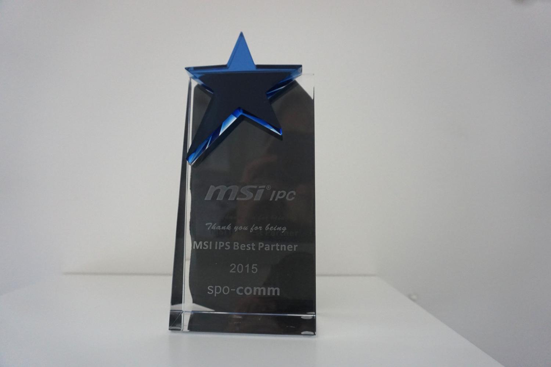 spo-comm wins MSI IPC Award