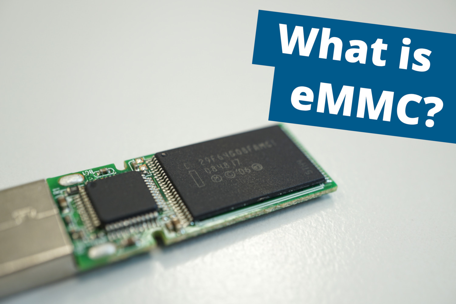 What is eMMC?