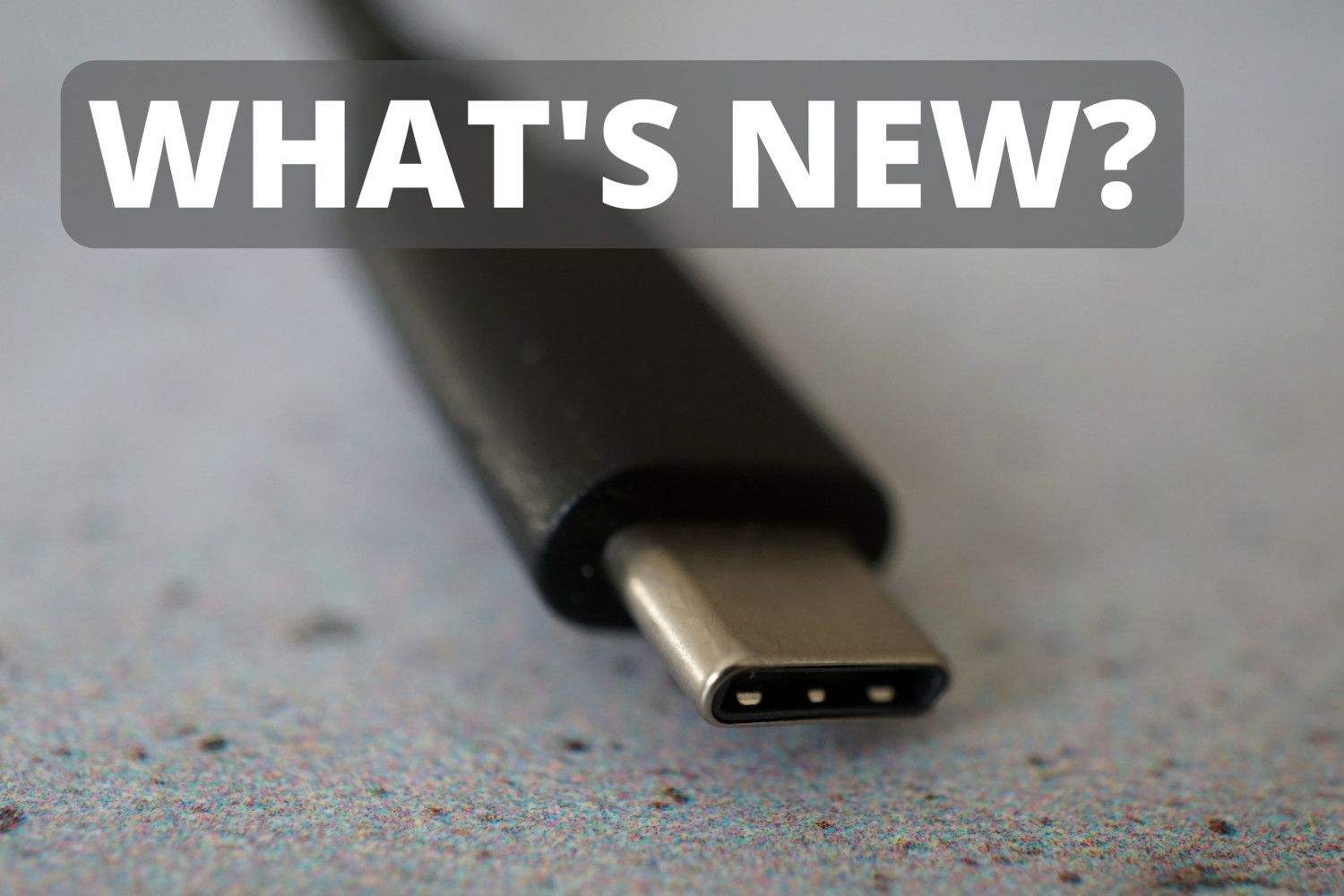 What's new? The 5G standard, a new AI and USB 4
