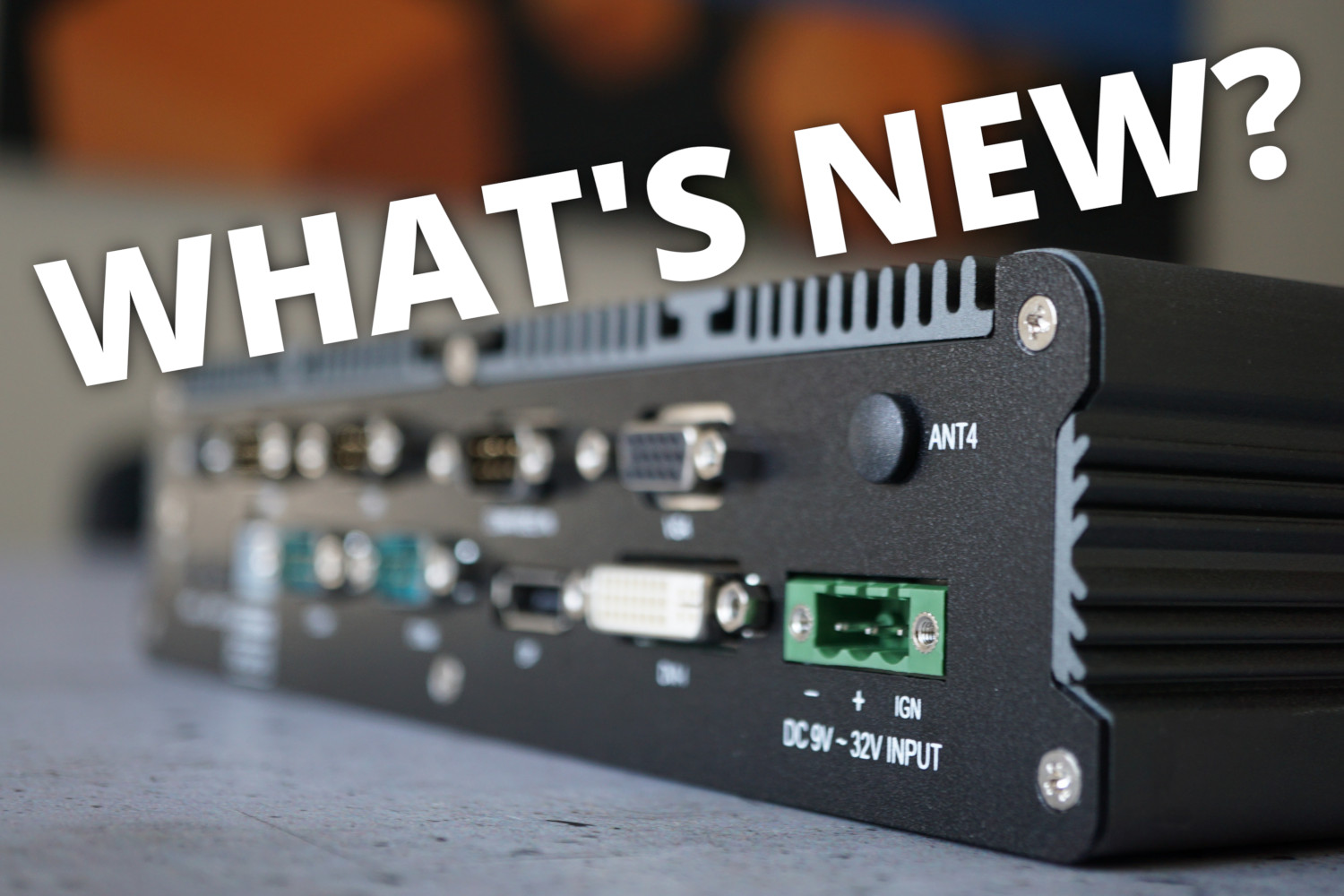 What's new? Kaby Lake, IoT and a new In-Vehicle-PC