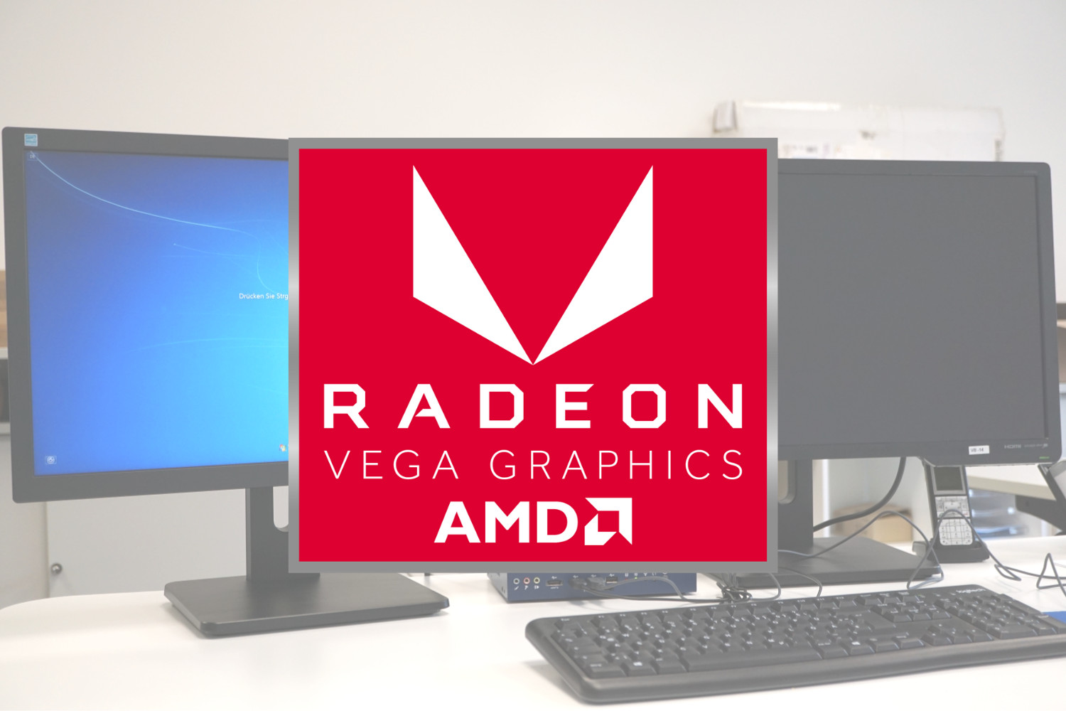 Multi-monitor with AMD Ryzen™ and Radeon™ Vega