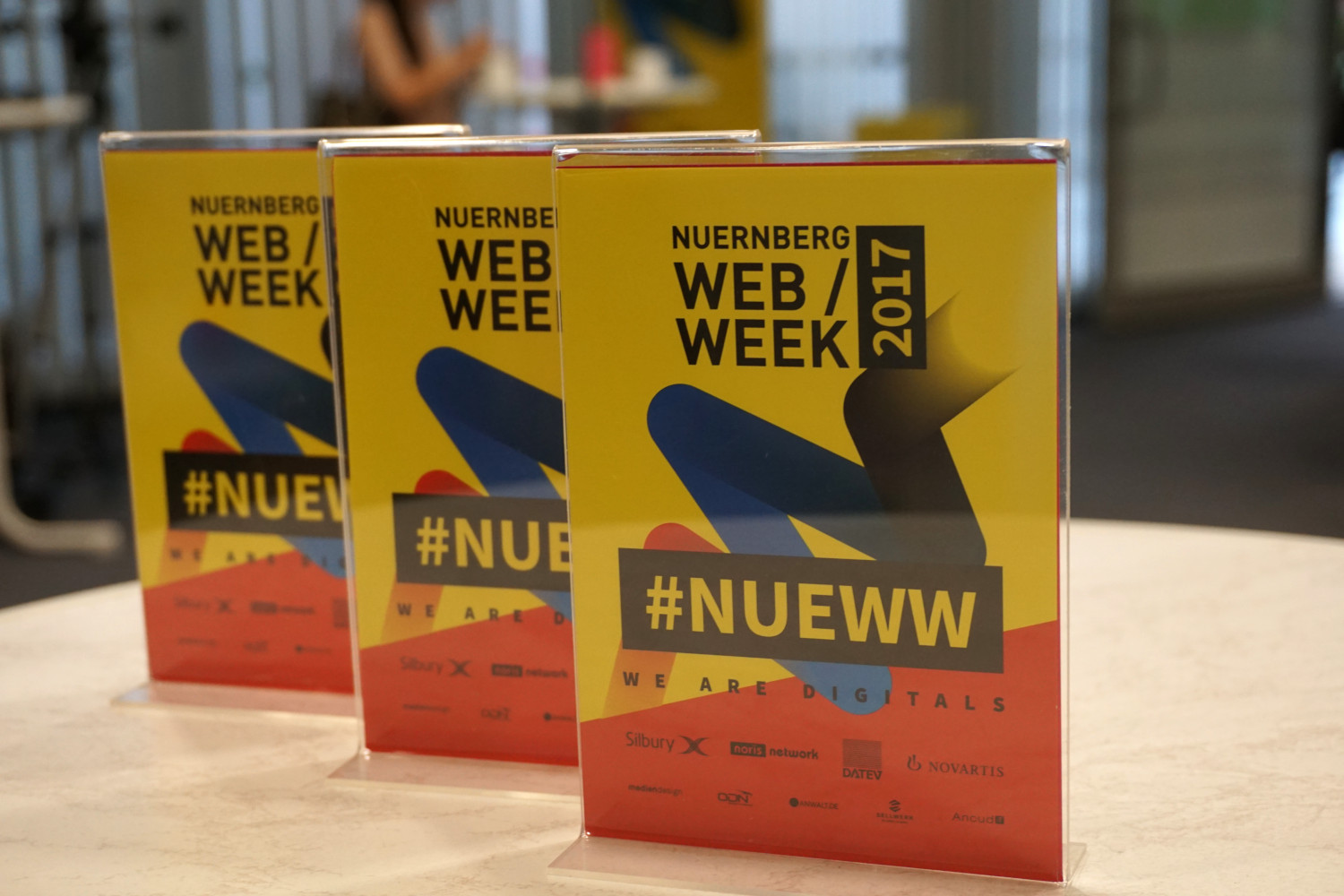 On the roads of the Nuremberg Web Week #NUEWW